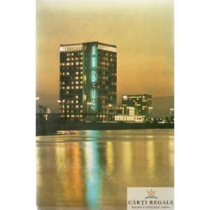 CARTE POSTALA-ILUSTRATA COLOR  CIRCULATA  MAMAIA HOTEL PARC