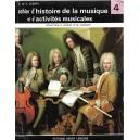CAHIERS H'HISTOIRE DE LA MUSIQUE ET D'ACTIVITES MUSICALES