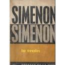 LE TRAIN de GEORGES SIMENON