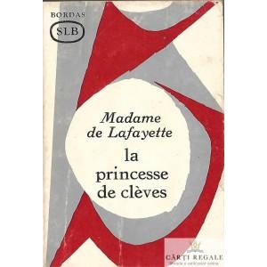 LA PRINCESSE DE CLEVES de MADAME DE LAFAYETTE