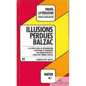 ILLUSIONS PERDUES de HONORE DE BALZAC (ANALYSE CRITIQUE)