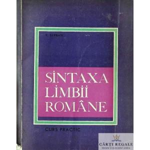 SINTAXA LIMBII ROMANE. CURS PRACTIC de VASILE BREBAN