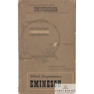 MIHAI EMINESCU de M. DRAGOMIRESCU