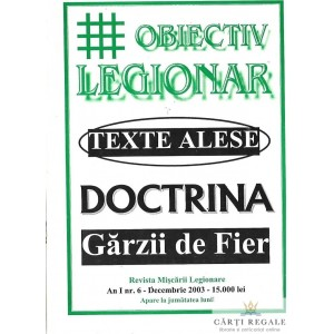 OBIECTIV LEGIONAR NR. 6/2003