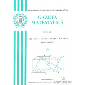 GAZETA MATEMATICA NR. 6/2011