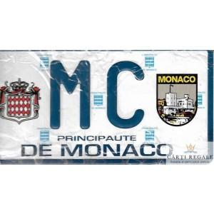 PLACUTA DE INMATRICULARE DE DECOR PRINCIPAUTE DE MONACO