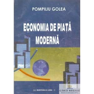 ECONOMIA DE PIATA MODERNA de POMPILIU GOLEA