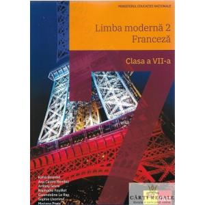 LIMBA FRANCEZA. MANUAL PENTRU CLASA A VII A de KATIA BRANDEL ED. ART KLETT