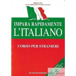 IMPARA RAPIDAMENTE L'ITALIANO. CORSO PER STRANIERI de ALBERTO FE