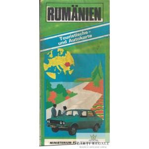 ROMANIA. HARTATURISTICA SI RUTIERA IN LIMBA GERMANA