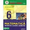 MATEMATICA. ALGEBRA, GEOMETRIE CLASA A VI A PARTEA  A II A 2000+ 11/12 de DAN ZAHARIA