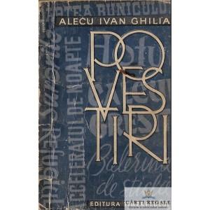 POVESTIRI de ALECU IVAN GHILIA