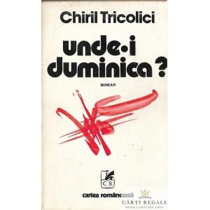 UNDE-I DUMINICA? de CHIRIL TRICOLICI
