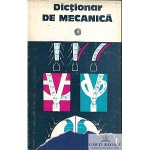 DICTIONAR DE MECANICA de CAIUS IACOB