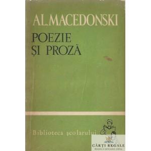 POEZIE SI PROZA de AL. MACEDONSKI