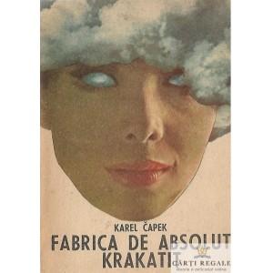FABRICA DE ABSOLUT de KAREL CAPEK