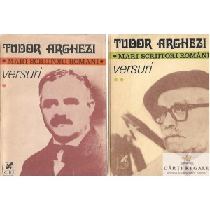 VERSURI de TUDOR ARGHEZI 2 VOLUME