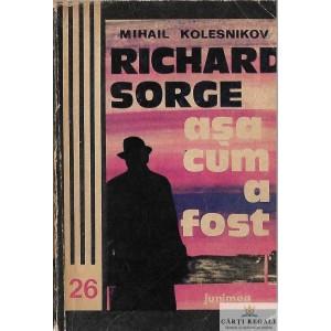 RICHARD SORGE ASA CUM A FOST de MIHAIL KOLESNIKOV
