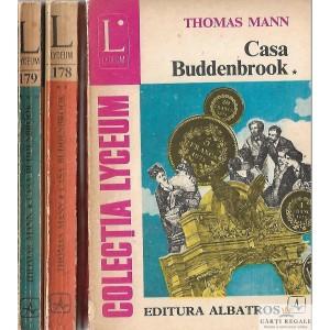 CASA BUDDENBROOK de THOMAS MANN 3 VOLUME