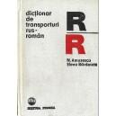 DICTIONAR DE TRANSPORTURI RUS-ROMAN de N. AMUZESCU, ELENA BARDEANU