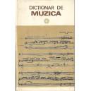 DICTIONAR DE MUZICA de IOSIF SAVA