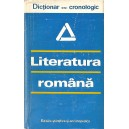 LITERATURA ROMANA. DICTIONAR CRONOLOGIC de AL. DIMA
