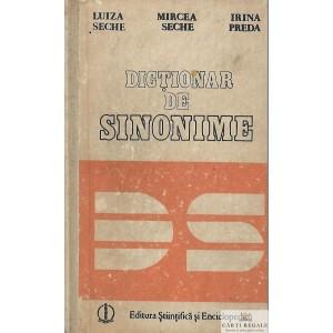 DICTIONAR DE SINONIME de LUIZA SECHE