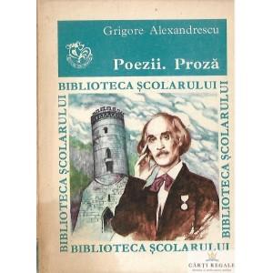 POEZII. PROZA de GRIGORE ALEXANDRESCU