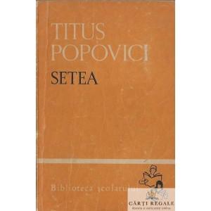 SETEA de TITUS POPOVICI VOLUMUL 2