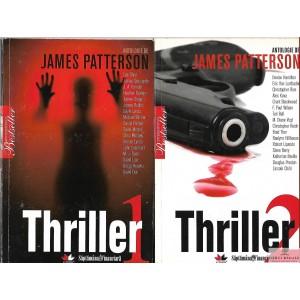 THRILLER de JAMES PATTERSON 2 VOLUME