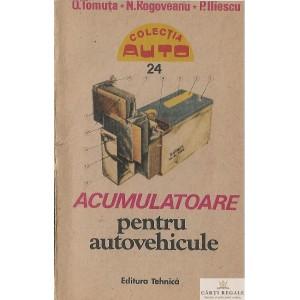 ACUMULATOARE PENTRU AUTOVEHICULE de O. TOMUTA