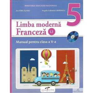 LIMBA FRANCEZA. MANUAL PENTRU CLASA A V A de ION FARVASANU ED. CD PRESS