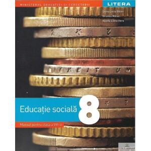 EDUCATIE SOCIALA MANUAL PENTRU CLASA A VIII A de ELENA LUCIA BALAN ED. LITERA