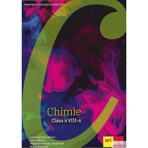 CHIMIE MANUAL PT CLASA A VIII A de LUMINITA IRINEL DOICIN ED. ART KLETT