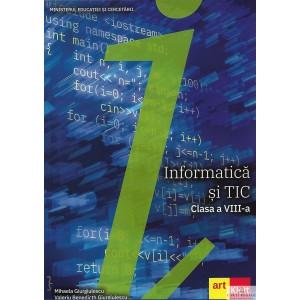 INFORMATICA SI TIC. MANUAL PT CLASA A VIII A de MIHAELA GIURGIULESCU ED. ARTKLETT