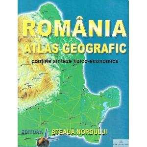 ROMANIA. ATLAS GEOGRAFIC  de MARIUS LUNGU