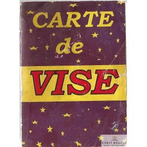 CARTE DE VISE. TALMACIRI VECHI SI NOI