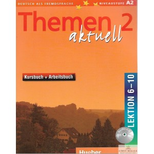 THEMEN AKTUELL 2 LEKTION 6-10 A2 cu CD de HARTMUT AUFDERSTRASE