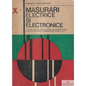 MASURARI ELECTRICE SI ELECTRONICE. MANUAL PT CLASA A X A de EUGENIA ISAIC