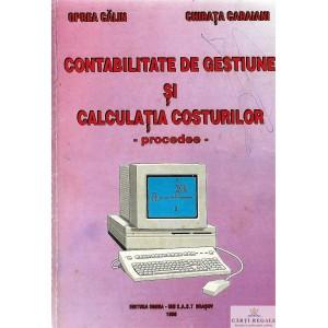 CONTABILITATE DE GESTIUNE SI CALCULATIA COSTURILOR. PROCEDEE de OPREA CALIN