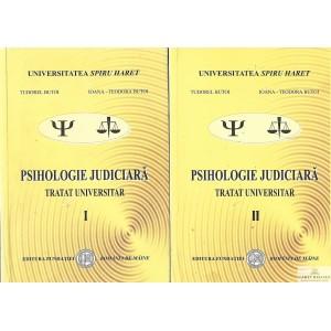 PSIHOLOGIE JUDICIARA. TRATAT UNIVERSITAR de TUDOREL BUTOI 2 VOLUME