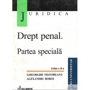 DREPT PENAL. PARTEA SPECIALA de GHEORGHE NISTOREANU
