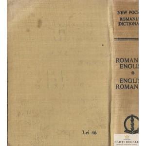 ROMANIAN-ENGLISH. ENGLISH ROMANIAN DICTIONARY de IRINA PANOVF