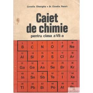 CAIET DE CHIMIE PENTRU CLASA A VII A de CORNELIA GHEORGHIU