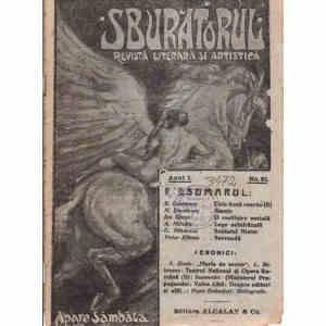 REVISTA LITERARA SI ARTISTICA SBURATORUL NR. 21 DIN 1919