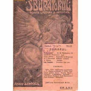 REVISTA LITERARA SI ARTISTICA SBURATORUL NR. 23 DIN 1919