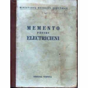 MEMENTO PENTRU ELECTRICIENI