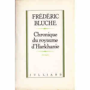 CHRONIQUE DU ROYAUME D'HARKHANIE