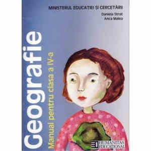 GEOGRAFIE - Manual CLS A IV A ED. HUMANITAS de DANIELA STRAT