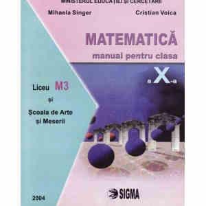 MATEMATICA CLS A X A ED. SIGMA PT SAM